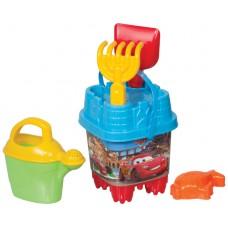 Cars Küçük Aksesuarlı Kale Kova Set