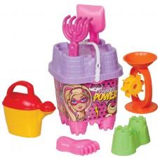 Barbie Büyük Aksesuarlı Kale Kova Set
